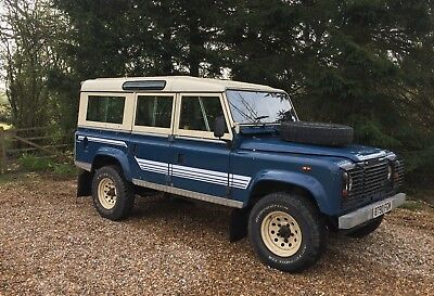 1984 Land Rover 110 V8 Station Wagon - Galvanised Chassis