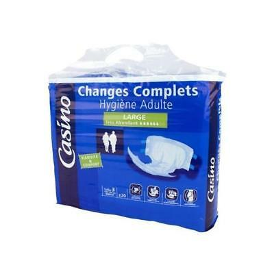 Changes Complets Hygiene Large Adulte 915894
