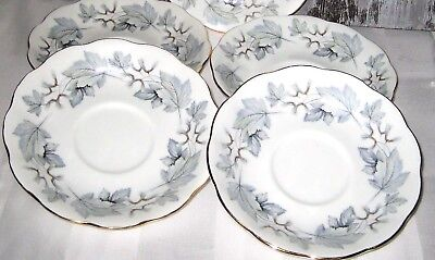Royal Albert - Silver Maple - Saucers (4)