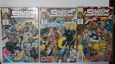 Marvel Comics Shadow Riders No.1-3 / 1993 Guest-Starring: Cable & Ghost Rider