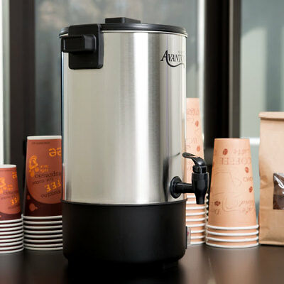 Brew,hold,and serve high volumes of coffee with the Avantco CU30 stainless steel