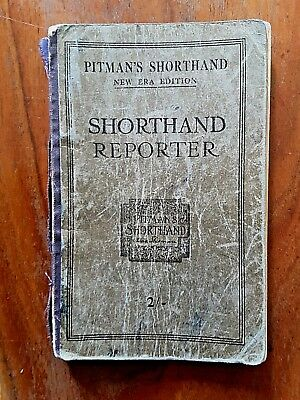 Vintage pitmans shorthand instructor book new course book 699 vintage circa 1936 pitmans shorthand new era reporter isaac pitman well used fandeluxe Choice Image