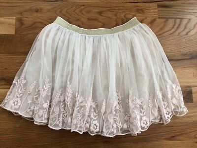 Mini Boden Girls Tulle & Lace Skirt 9-10Y
