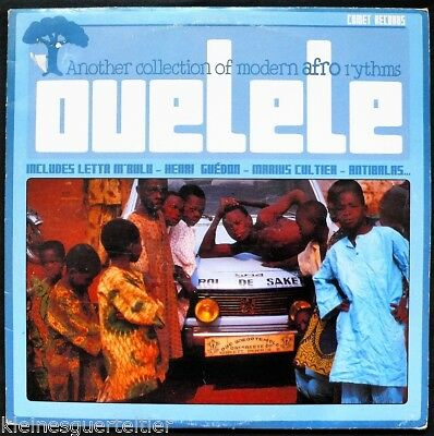 OUELELE - ANOTHER COLLECTION OF MODERN AFRO RYTHMS - Vinyl doppel-LP selten