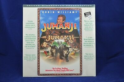 Jumanji - New and SEALED - Widescreen Laser Disc