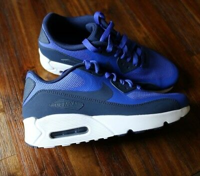 NIKE GRADE SCHOOL Air Max 90 Ultra 2.0 size 6.5y blue white [869950 401]