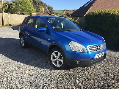 Nissan Qashqai Tekna 2 owners from new Leather Interior 82k miles new MOT