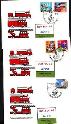 DDR-FDC 2276/80, gestempelt, s. scan