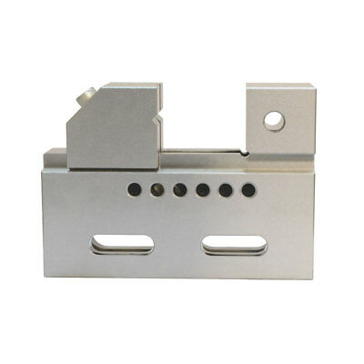 """High Precision 2"""" Jaw Wire Cut EDM Vise HRC 55 .0002"""" Toolmaker Stainless Steel"""
