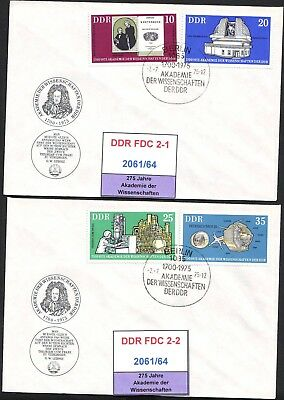 DDR-FDC 2061-2064, gestempelt, s. scan
