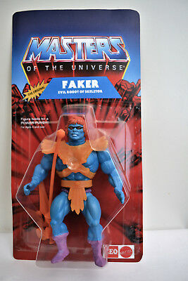"""Motu He-Man Masters Of The Universe Leo Toys Faker """"india"""" In Blister On Card"""