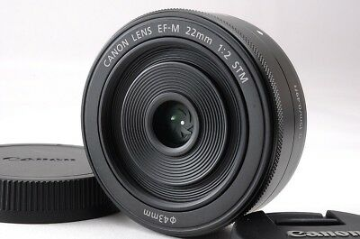 Canon EF-M 22mm f/2 STM Lens macro 0.15m/0.49ft for eos m m1 m2 m3 m5 m6 m10