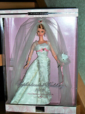Barbie Sophisticated Wedding The Bridal Collection 2002 Collector 2001 NRFB