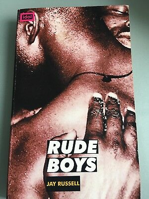 Rude Boys by Jay Russell  - an Idol paperback - Gay Interest - free postage