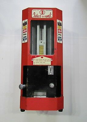 1940s Hershey Select O Vend 1 Cent Candy Gum Machine Working Condition