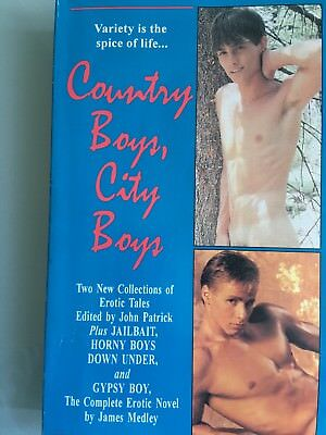 County Boys, City Boys - Paperback Book -John Patrick - Gay Interest-Free P&P