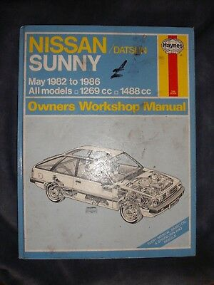 nissan sunny b11 haynes owners workshop manual 1 3 1 5 1982 1986 rh picclick co uk Nissan B15 1998 Nissan Maxima Jamaica