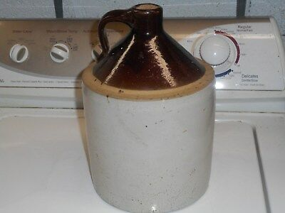 Antique Moonshine - Whiskey Jug Very Old 1 Gallon With Cork