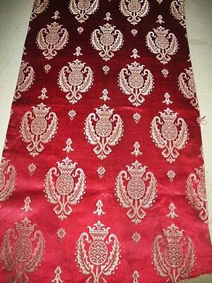 Morceau Antique French Silk Damask ~Projects~