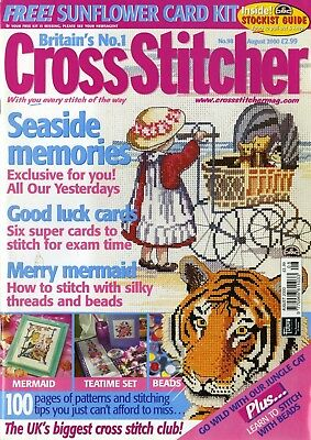 Cross Stitcher - Issue 098, August 2000 (OHNE Free Gift)