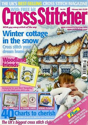 Cross Stitcher - Issue 105, February 2001 (OHNE Free Gift)