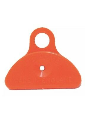 Acme 576 ORANGE plastic shepherds mouth lip whistle shepards
