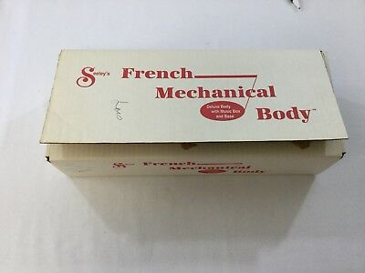 Seeleys French Mechanical Body Doll Composition Body 14 inch