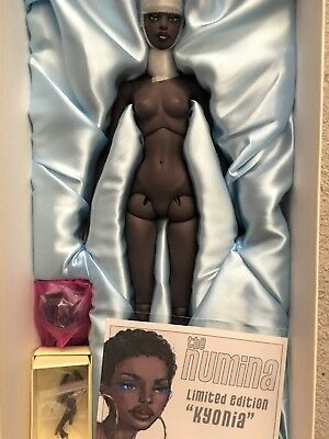 """Numina Dollcis Paul Pham Resin 16"""" KYONIA Nude with Wig & Stand LE 20"""