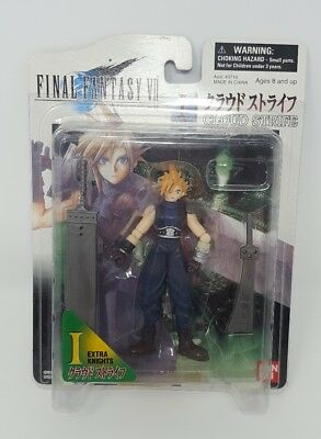 FINAL FANTASY VII CLOUD STRIFE ACTION FIGURE BANDAI 7 1997 FF7 extra knights
