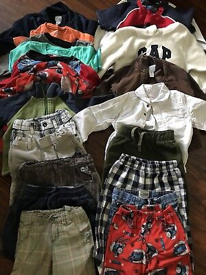 Boys 3t & 4t Lot of 20!  Gap, Old Navy, Carters, And Cat & Jack!!!