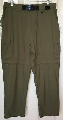 NWT BOY SCOUTS OF AMERICA Switchback Convertible Pants Green WOMENS XL NEW