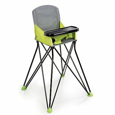 Folding Baby High Chair Portable Camping Infant Toddler Travel Feeding Seat