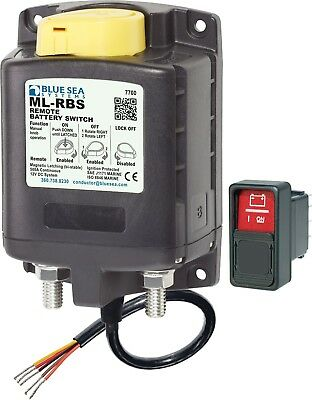 Blue Sea Systems 7700 ML-Series Remote Battery Switch NEW