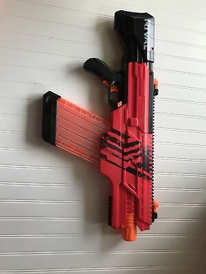 Nerf Rival khaos MXVI-4000 good condition 40 round magazine red team