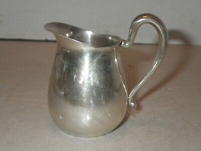 Antique Frank M Whiting Sterling Silver Pitcher Creamer Salad Dressing M 1900