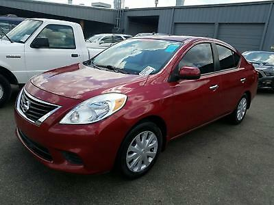 2013 Nissan Versa SV 2013 Nissan Versa SV Red/Black Automatic Clean New Model Clear Title Shipping