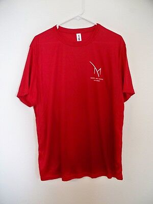M Resort & Casino Las Vegas Red Soft T-Shirt XL New