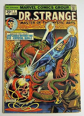 Dr. Strange Master of the Mystic Arts #1 (1974) Marvel 1st App Silver Dagger VG+