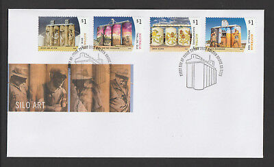 Australia 2018 : Silo Art - First Day Cover, Mint Condition