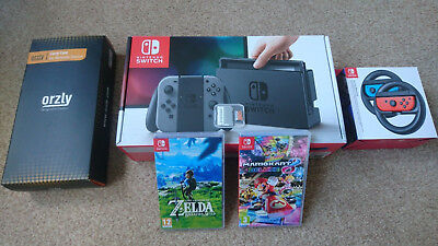 Nintendo Switch Joy-Controller Bundle 32GB Grau Spielkonsole