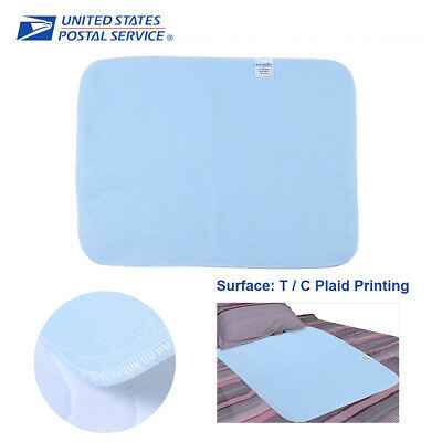 2/6 Reusable New Bed Pads Underpad Grade Incontinence Washable 45x60  Waterproof