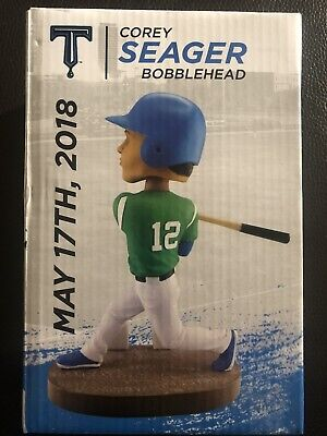 Corey Seager Bobble Head 5/17/18 Tulsa Drillers Only 1000 Made Dodgers MLB