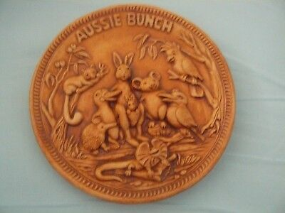 Swagman Pottery Vintage Aussie Bunch Plate Australiana Collectable