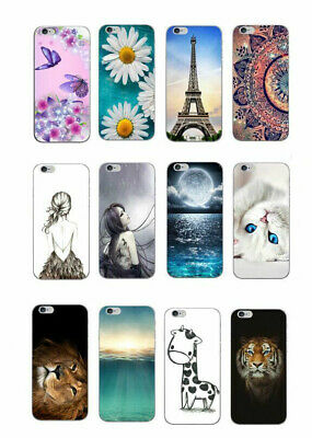 For Alcatel 3V cute Soft Gel TPU case cover skin 3C 3X 5 Wiko Upulse Lite