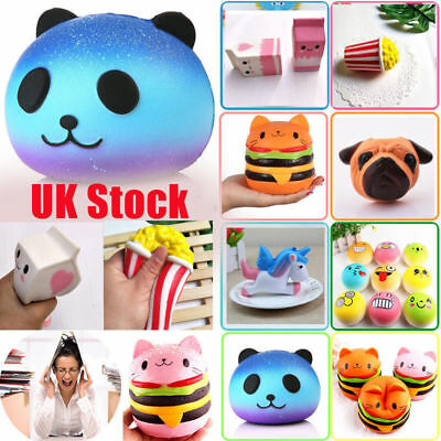 Jumbo Slow Rising Squishies Scented Squishy Squeeze Stress Reliever Toys Gifts