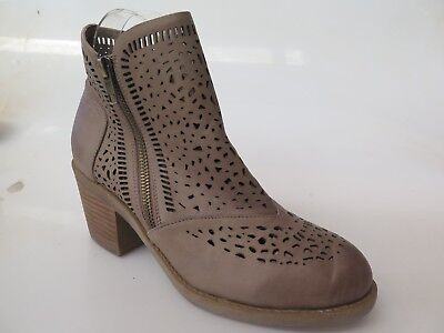 Django & Juliette - new leather ankle boot size 37 #141