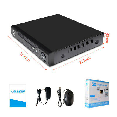 8CH 5IN1 H.264 1080N CCTV Hybrid DVR Security System Video Recorder Motion Detec