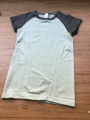 Ivivva 8 Grey And Mint T Shirt