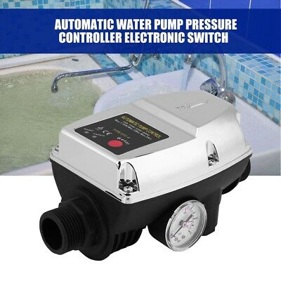 220V Automatic Water Pump Pressure Controller Electric Switch Control Adjustable