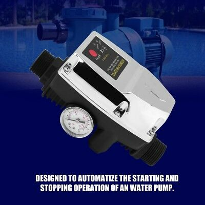 220V Automatic Water Pump Pressure Controller Electronic Switch With Accessories